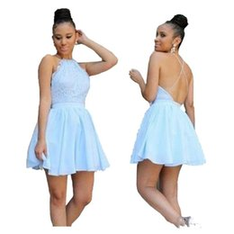 Simple Chiffon Homecoming Dresses Short Canada | Best Selling ...