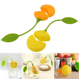 Discount cheap bag hot - Free Shipping Silicone Teabag Tea Strainer Infuser Teapot Teacup Filter Bag Lemon Style Hot Sales Cheap Price