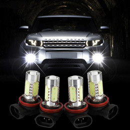 Fog lamp projector online shopping - H11 W High Power LED Bulb Car Auto Light Source Projector DRL Driving Fog Headlight Lamp Xenon White DC12V car styling