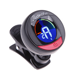$enCountryForm.capitalKeyWord Canada - Mini Portable Musical Instruments Guitar Accessories Bass Violin Ukulele Chromatic Digital Tuner Black