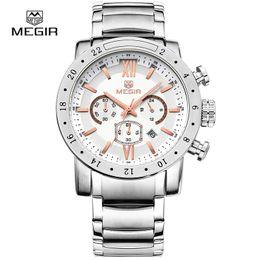 $enCountryForm.capitalKeyWord Australia - Megir fashion quartz watch for man waterproof luminous wrist watch mens large dial watches 3008 free shipping