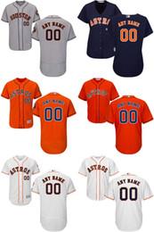 Kids' Houston Astros Customized Rainbow Jersey