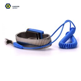 Antistatic Wristband Esd Wrist Strap Blue Metal Discharge For Electrician Ic Plcc Worker Antistatic Bracelet Free Shipping Special Summer Sale Back To Search Resultstools