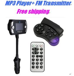Steering adapter online shopping - Hot Sell MP3 Player FM Transmitter Bluetooth Car Kit Steering Wheel Remote Handsfree Wireless Car Bluetooth Kit Car for Mobile phone free