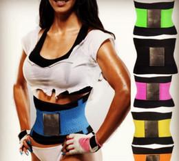 7e069c7498 1pcs Adjustable Waist Trimmer Belt Weight Loss Waist Trainer Best Fitness    Exercise Slimming Body Waist Shaper Tummy Trimmer
