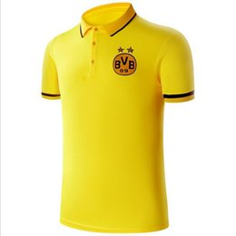 soccer polo Canada - Famous soccer team poloshirts for men summer casual short sleeve men football polo new fashion poloshirts shirts for men free shipping