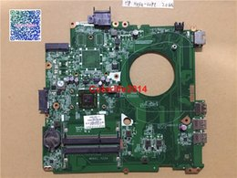 laptop motherboard i5 cpu NZ - DAY22AMB6E0 763551-501 A8-6410 CPU For Hp Pavilion 14-v series Laptop Motherboard Mainboard w i5-6200U Fully Tested & Working perfect