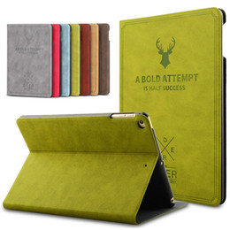 Discount wholesale printing ipad covers - Smart Wake Leather Case For IPad Pro 9.7 IPad Air Luxury Cover Flip Stand Protective Case For IPad Pro mini