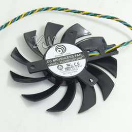 75mm 12v fan Canada - Free shipping New MD1GD5 graphics card fan PLD08010S12HH 12V 0.35A Diameter 75mm Video card fan