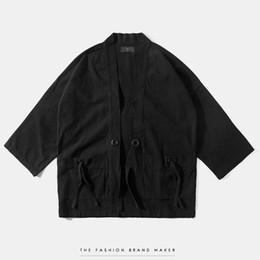 $enCountryForm.capitalKeyWord UK - Mens kimono japanese clothes streetwear fashion casual kanye west kimonos jackets harajuku japan style cardigan outwear