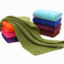 $enCountryForm.capitalKeyWord UK - Microfiber towel dry sanding and thick plain embossing washcloth sweat towel absorbent Jiao Fang river bank