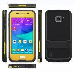 Wholesale NEW Waterproof Case For Samsung Galaxy S6 G9200 Life Water proof case Shockproof Dirt Protective cases with Phone Holder and Retail Package
