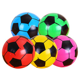 $enCountryForm.capitalKeyWord Australia - Beach Inflatable Football Volleyball Toys 22cm Outdoor Sports Soccer Ball Inflatable Summer Pool Fun Toy Kids Gift