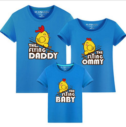 9992ddae 2017 fashion T-shirt free shipping Parent-child photography clothing  cartoon Family Matching Outfits Couple Tees cotton T-shirt wholesale
