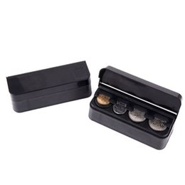 Plastic Containers For Storage UK - Creative Black Plastic Organizer Rolls Pocket Telescopic Dash Coin Holder Case Storage Box Container For Car And Home ZA2664