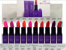 Selena Lipstick Canada - HOT NEW Selena Collection LIQUID LIPSTICK MATTE 20 color DHL Free shipping