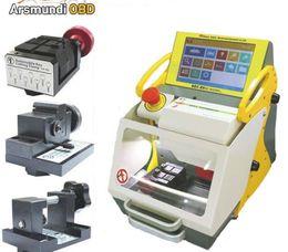 Discount key duplicating machine for car - 2018 Best automatic key cutting machine SEC-E9 portable smart duplicate car key cutting machine