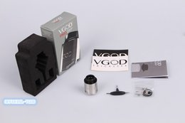 velocity rda tank Australia - 100% Original VGOD Pro Drip RDA Tank Four Hole Velocity Style Deck Post Direct Bottom Draw Airflow DHL FREE