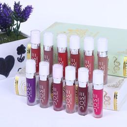 lips soc 2018 - Top quality Dose Of Colors Liquid Matte Lipstick Waterproof Dose of colors lipstick lip gloss SOC Lip Gloss Lipgloss 660