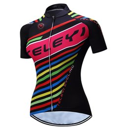 Cycling Jerseys Women Plus Size Canada - VACOVE Women Breathable Ropa  Ciclismo cycling shirt Polyester Cycling daa62a2c0