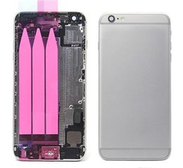 Replacement phone housing online shopping - Full Housing Chassis For iphone plus housing assembly Back housing battery door metal alloy cover case replacement Phone cases