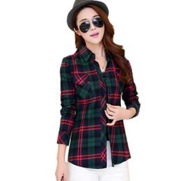 c0d2ba51d3b plaid cotton blouse women 2017 spring casual long sleeve blouse women  checked shirts women red black plaid office lady blouse