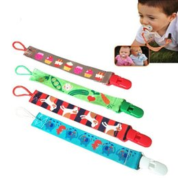 Pacifier Clip Boy Canada - Dummy Pacifier Soother Nipple Leash Strap Chain Clip Holder Baby Infant Girl Boy Dummy Pacifier children accessories