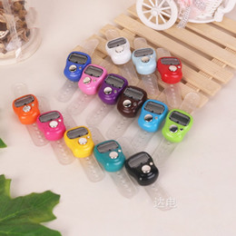 LED Counter Reset Finger Manual Scaler Mini Hand Hold Handed Band Arithmometer Multicolor Optional Sturdy Durable Comfortable Feel 1 1md H on Sale