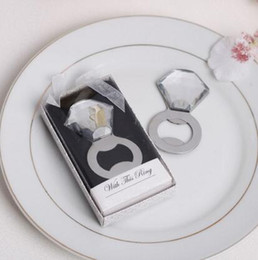 $enCountryForm.capitalKeyWord Canada - Wedding favor birthday diamond ring beer bottle opener Favors Guest gifts boxes giveaway Party supplies With this Ring wine