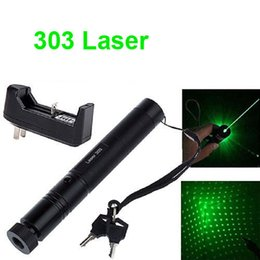 $enCountryForm.capitalKeyWord Canada - 303 Green Laser Pointer Pen 532nm 5mw Adjustable Focus & Battery + Charger US Adapter Set Free Shipping