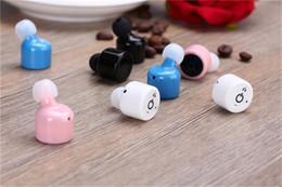 $enCountryForm.capitalKeyWord NZ - New Arrival Mini Stereo CSR 4.0 Bluetooth Headset Earphone Headphone Wireless Handfree for iPhone Tablet
