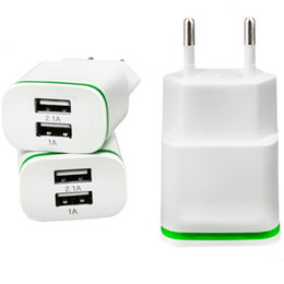 $enCountryForm.capitalKeyWord NZ - dual interface wall charger 2 usb ports double usb 2.0A 1.0A US EU Plug adapter for iphone ipad tablet Samsung Galaxy