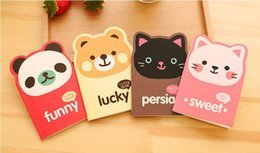 $enCountryForm.capitalKeyWord Canada - Cute Notebook Animal Paper Note Mini Note Book for Students Paper Notepad Stationary for Office Cat Panda Bear