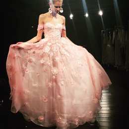 $enCountryForm.capitalKeyWord Australia - Vintage China Embroidery Evening Dresses Light Pink Party Cocktail Gowns High Quality Organza Weddings Guest Dress A Line Off-Shoulder