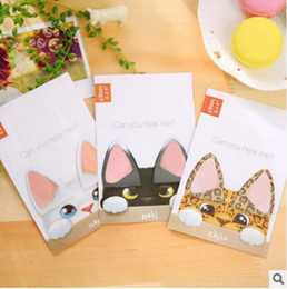 $enCountryForm.capitalKeyWord Canada - 2017 New PASAYIONE Kawaii Cute Cat Shaped Sticky Notes Notepad Post it Papelaria Filofax Papel Planner Paper Sticker Escolar
