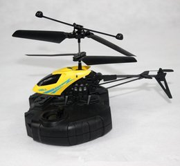 mini infrared helicopter Canada - 100% Original High Quality And Inexpensive MJ901 2.5CH Mini Infrared Rechargeable And Portable RC Helicopter Kids Toy Gift RTF