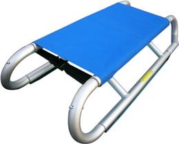 Großhandel- HAGIBIS Design Collapsible Aluminium Sledge Adult Schlitten für Schnee XQ22