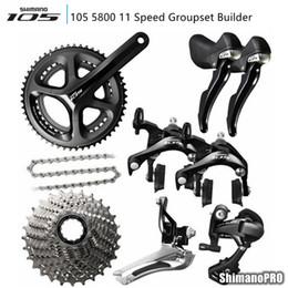 shimano 105 5800 11 скорость groupset 2 * 11 22 скорость велосипеда groupset дорожный велосипед частей велосипеда