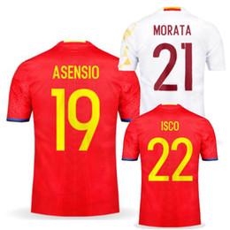 89d5e4068 ... 2017 Spain Jersey soccer Home Red KOKE ESPANA 2016 17 18 CAMISETA DE  FUTBOL Away white ...