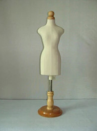 Clothes Forms Canada - freeshipping!FEMALE small sizeg,mannequin sewing for clothes,manequim busto dress form stand1:2 scale Jersey bust with button wooden M00020H