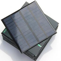Epoxy Policristalino 3 W 12 V Mini Célula Solar DIY Panel Solar Power Cargador de Batería Sistema de Estudio 145 * 145 * 3 MM Envío Gratis