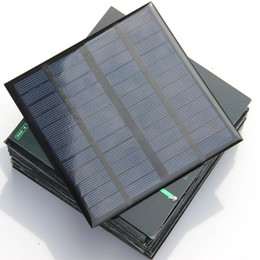 Chinese  Epoxy Polycrystalline 3W 12V Mini Solar Cell DIY Solar Panel Power Battery Charger System Study 145*145*3MM Free Shipping manufacturers