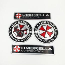 $enCountryForm.capitalKeyWord Australia - Metal body paste modified General car stickers biochemical crisis umbrella cartoon Game Protector stickers