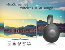 Android Hdmi Usb Tv Stick NZ - New MiraScreen G2 G2-4 TV Stick Dongle Anycast Crome Cast HDMI WiFi Display Receiver Miracast Google Chromecast 2 Mini PC Android TV by DHL