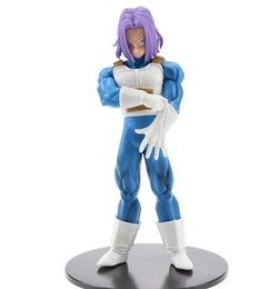 Wholesale Dragon Ball Super Trunks Torankusu Resolution of Soldiers Vol DBZ Super Saiyan PVC Action Figure Model Toy cm