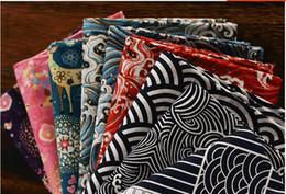 $enCountryForm.capitalKeyWord Canada - 150cm WHolesale Cotton and linen bronzing upset Japan burlap fabric sofa fabric pillow cushion for leaning on of curtain antependium customi