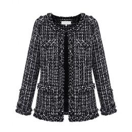 Short Wool Jackets For Women Canada - 2016 Autumn Winter Coats for Women New Ladies Europen Style Women's Stylish Casual Formal Wool Jacket Coats