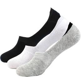Pantofole calzino cotone all'ingrosso-moda estate autunno 6 colori qualità aderente disegno a maglia calze invisibili barca per le donne spedizione gratuita in Offerta