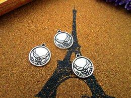 $enCountryForm.capitalKeyWord NZ - 20pcs-US Air Force Charms, Antique Tibetan silver Solider Army Charms pendants 15x18mm