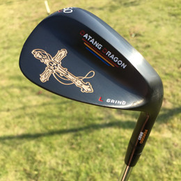 real golf clubs 2019 - 2017 black golf wedges 52 56 60 degree with original S300 steel shaft golf clubs crucifix real forged wedges